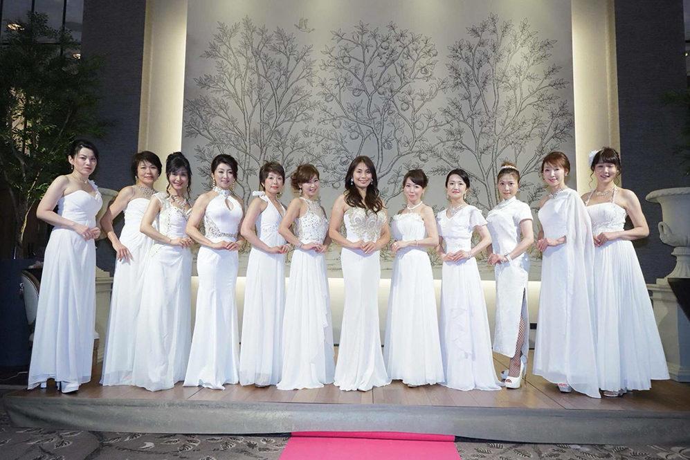日本女性姿勢協会 ドレス