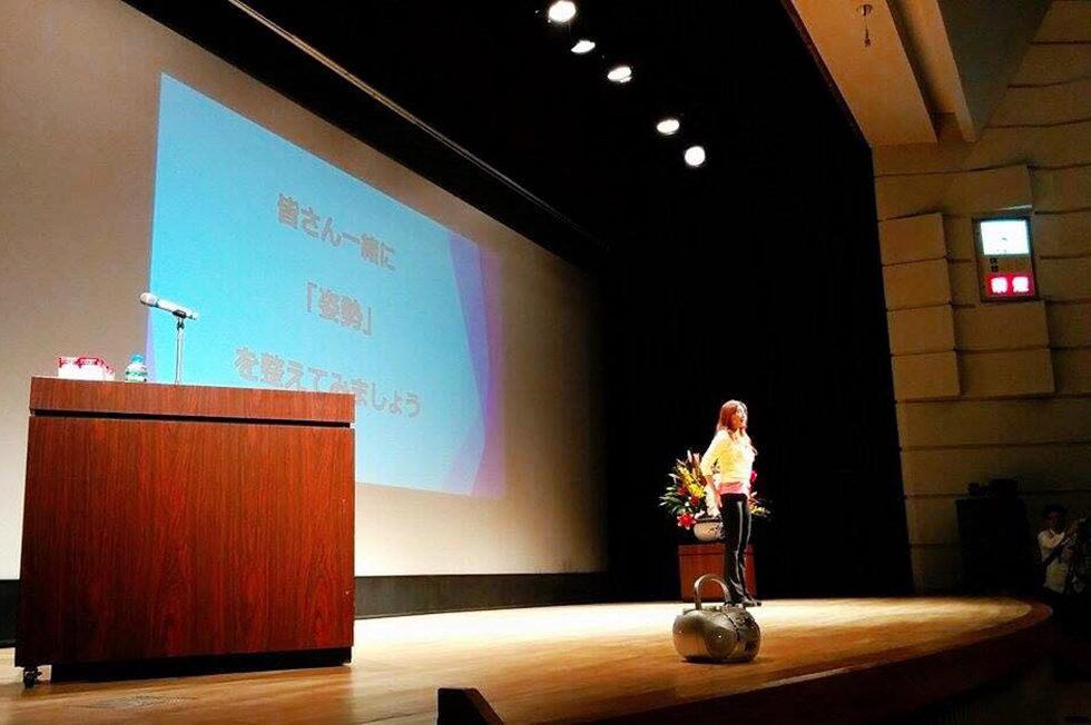 日本女性姿勢協会 講義