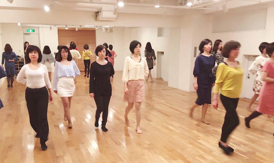 日本女性姿勢協会レッスン1